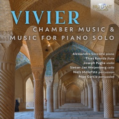 19 39 3 96082 Vivier Chamber Music Music for Piano Sol Front Cover 1