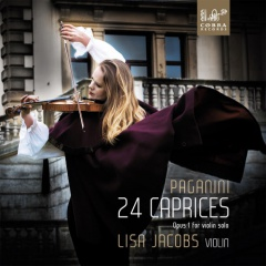 JACOBS LISA PAGANINI 24 CAPRICES OPUS 1 FOR VIOLIN SOLO