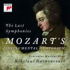 Pagina 27+28 onder Cover Harnancourt Mozart The Last Symphonies 56572087