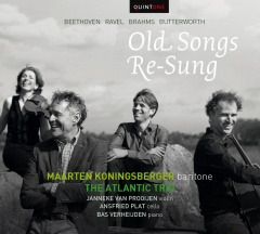 Pagina 31+32 boven Maarten Koningsberger The Atlantic Trio Old Songs Re sung Quintone