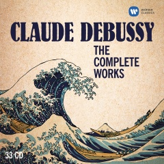cover 0190295736750 Debussy The Complete Works RGB